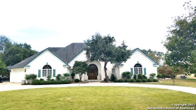 Boerne Single Family Home Active RFR: 119 Kendall Ridge