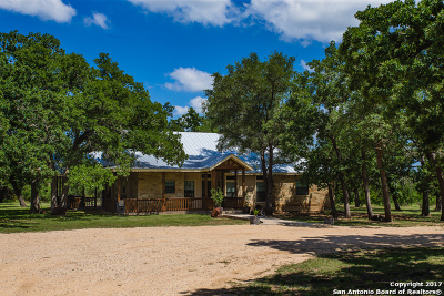Bandera County Single Family Home For Sale: 6818 State Highway 173