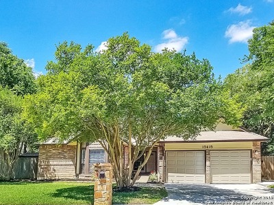 Bexar County Single Family Home Back on Market: 13415 Stairock St