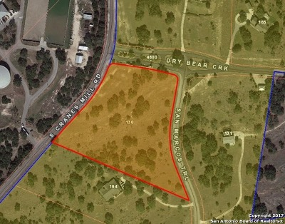 New Braunfels Residential Lots & Land Back on Market: 130 San Marcos Trail