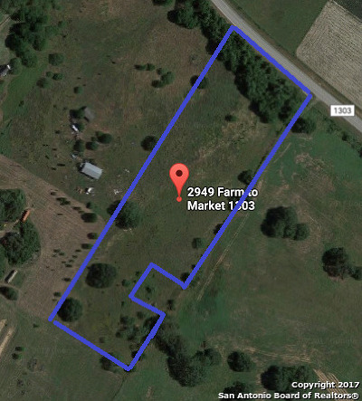 Wilson County Residential Lots & Land For Sale: 2949 Fm 1303
