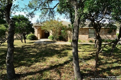 Helotes Single Family Home Price Change: 20417 Helotes Creek Rd