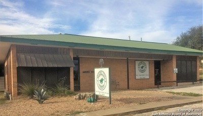 Bandera County Commercial For Sale: 1207 Pecan St