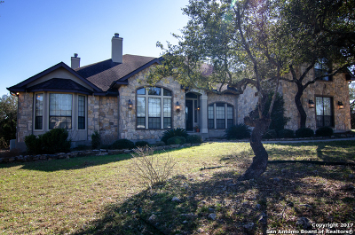 San Antonio Single Family Home For Sale: 22317 Old Fossil Rd