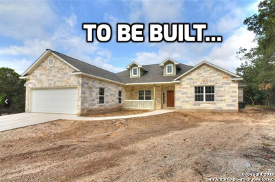 New Braunfels Single Family Home Back on Market: 2225 Lost Trail