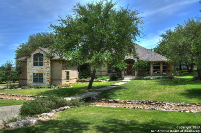 Comal County Single Family Home For Sale: 22174 Via Posada Dr