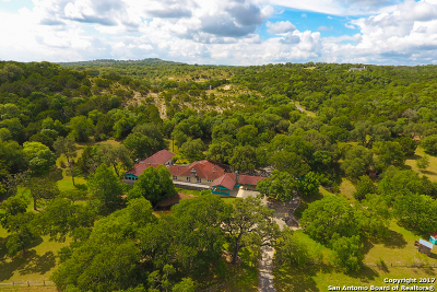 Boerne TX Single Family Home For Sale: $1,300,000