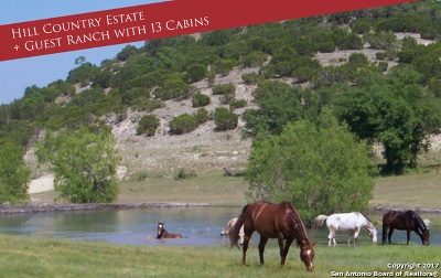 Bandera County Single Family Home For Sale: 9061 Bandera Creek Road