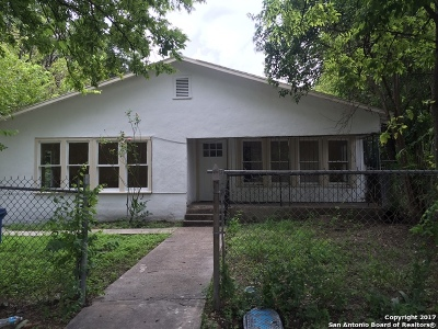 Single Family Home For Sale: 1514 Stonewall St