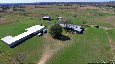Guadalupe County Single Family Home For Sale: 3330 Church Rd