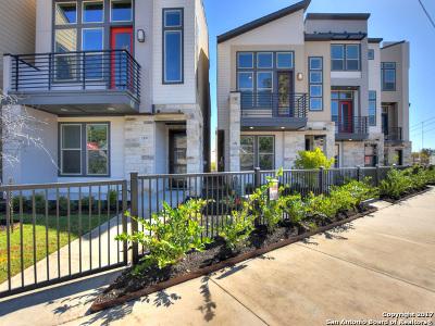 San Antonio Single Family Home Price Change: 2106 St Marys St