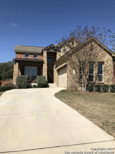 Boerne Single Family Home For Sale: 112 Fischer Dr