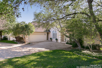 San Antonio Single Family Home Active RFR: 18315 Apache Springs Dr
