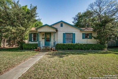Bexar County Single Family Home Price Change: 140 Harmon Dr