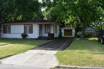 San Antonio Single Family Home Back on Market: 330 Hub Ave