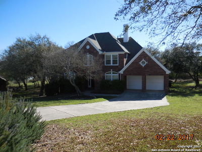 Bexar County, Comal County, Guadalupe County Single Family Home For Sale: 8702 Timberland Trail