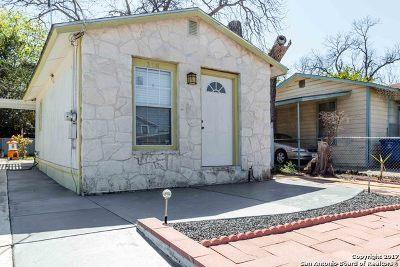 Single Family Home For Sale: 318 Cordelia St