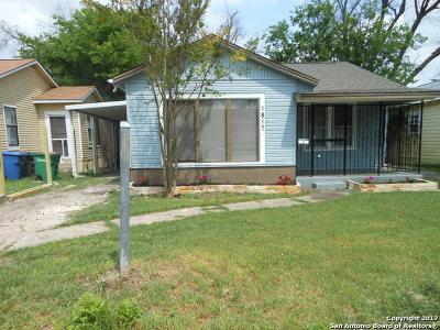 San Antonio Single Family Home Back on Market: 1817 Santa Monica St.