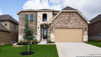Boerne Single Family Home Price Change: 8311 Kerria Landing