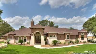 La Vernia Single Family Home For Sale: 105 Eden Crossing