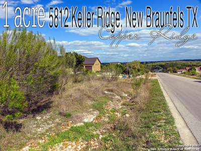 Comal County Residential Lots & Land For Sale: 5812 Keller Rdg
