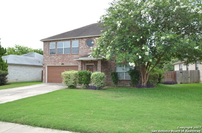 Schertz Single Family Home For Sale: 1555 Jasmine Dr