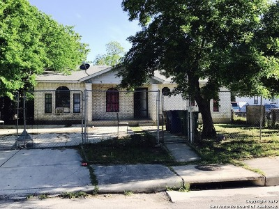 San Antonio Single Family Home For Sale: 207 E Baylor St