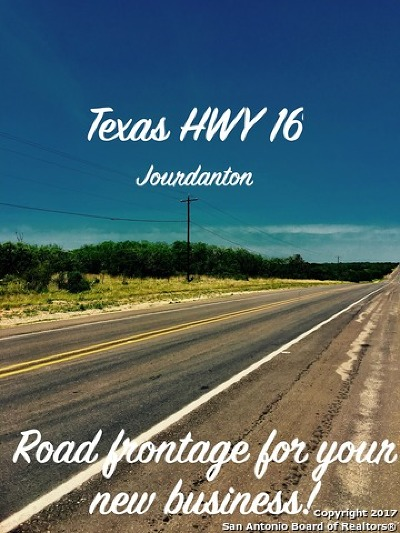 Jourdanton Residential Lots & Land For Sale: 00 Hwy 16