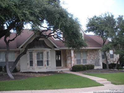 San Antonio Single Family Home For Sale: 18326 Emerald Forest Dr