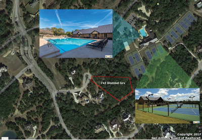 Comal County Residential Lots & Land For Sale: 743 Wombat Grove