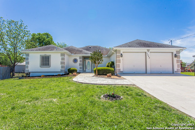 Selma Single Family Home For Sale: 7922 Clearwater Blvd