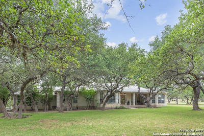 Bulverde Single Family Home For Sale: 865 Persimmon Hl