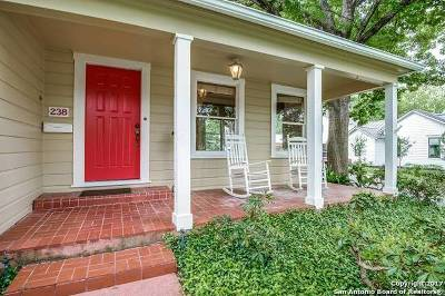 Alamo Heights Single Family Home For Sale: 238 Alta Ave