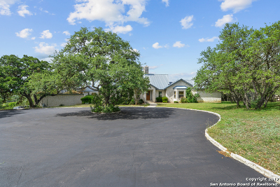 Fair Oaks Ranch Single Family Home For Sale: 7817 Rocking Horse Ln