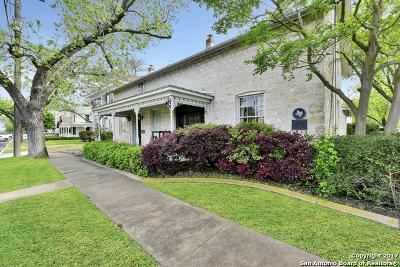 Fredericksburg Single Family Home Price Change: 125 W San Antonio St