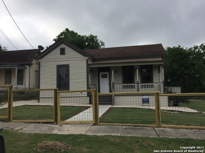 Single Family Home For Sale: 1112 E Crockett St