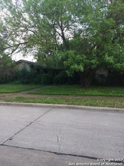 Bexar County Single Family Home For Sale: 1607 Lexington