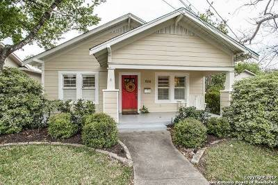 Alamo Heights Single Family Home Price Change: 126 Normandy Ave