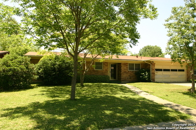 San Antonio Single Family Home Back on Market: 110 Montpelier Dr