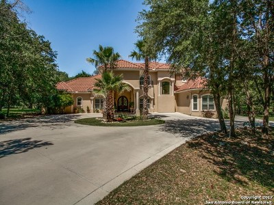 New Braunfels Single Family Home For Sale: 26606 Forest Link