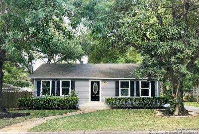 Alamo Heights Single Family Home For Sale: 160 E Oakview Pl