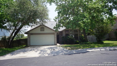 Bexar County Single Family Home Back on Market: 9835 Logans Ridge Dr