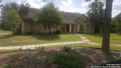 Boerne Single Family Home Price Change: 409 Kendall Pkwy