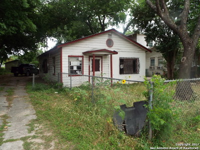 San Antonio Single Family Home Price Change: 834 Division Ave