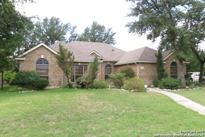 Helotes Single Family Home Price Change: 13710 French Park