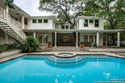 Alamo Heights Single Family Home Price Change: 602 Alta Ave
