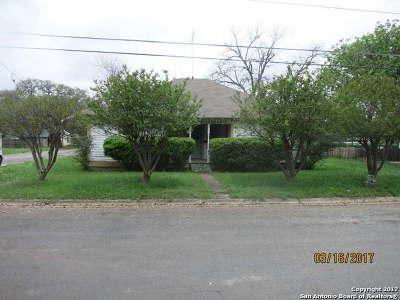 Hondo Single Family Home For Sale: 2510 Avenue I