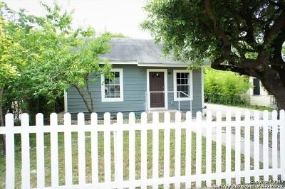 Bexar County Single Family Home Back on Market: 322 Arlington Ct
