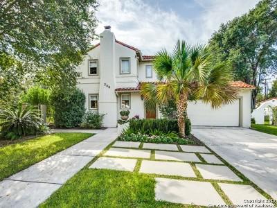 Terrell Hills Single Family Home For Sale: 208 Morningside Dr