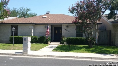 Windcrest Single Family Home For Sale: 8330 Windway Dr.
